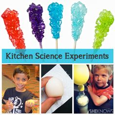 10 Fun Kitchen Science Experiments: The science of cooking!
