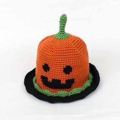 Pumpkin Hat / [キット] (キット)ハロウィン かぼちゃ帽子 COL-14 - Puppy オンラインストア (パピー毛糸)
