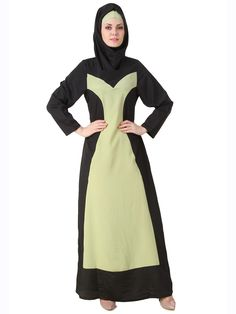 MyBatua Raidah Crepe Black Abaya | Available in sizes XS to 7XL, lenth 50 to 66 inches. 	 Buy link : https://www.mybatua.com/catalogsearch/result/?q=Raidah+Crepe+Black+Abaya