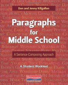 Paragraphs for Middle School: A Sentence-Composing « LibraryUserGroup.com – The Library of Library User Group