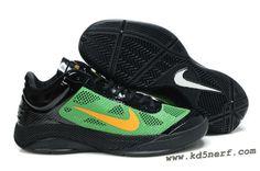 best service 6e1f5 b807a Nike iD Zoom Hyperfuse Low black green by Jeremy Lin sneakers