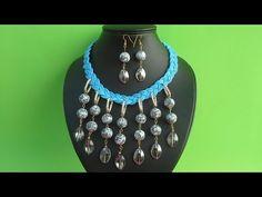Como hacer un Collar de Piedras de Cristal. - YouTube