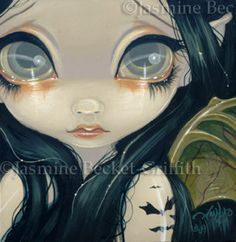 Faces of Faery #52 | Art by Jasmine Becket-Griffith