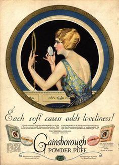 edwardianpromenade:  — American make-up advertisement, 1910s