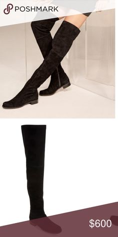 HILO boot Stuart weitzman thigh high Hilo boot. New with box!! Stuart Weitzman Shoes Over the Knee Boots