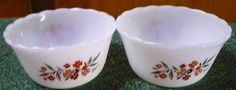 Fire King  Primrose Custard Cups  3 3/4 x 2  by pittsburgh4pillows, $4.00