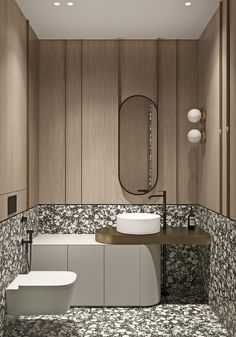 Marbled and Modern Interior Design In Moscow