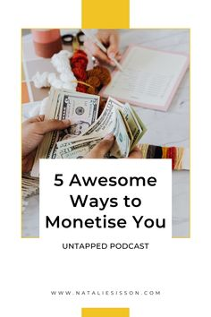 What skills, knowledge and experiences could be making you money? What is unique about you? What is your secret sauce? What lights you up? It's time for 5 more unique ways to earn more income. Here are thirty more minutes of awesome for you to listen to on the UNTAPPED podcast, so that you can make moollah, doing things you already know and LOVE, just by being you. Tune in at nataliesisson.com/117 Way To Make Money, How To Make, Making 10, Growing Your Business, I Got This, Affiliate Marketing, Playing Cards, Knowledge, The Incredibles