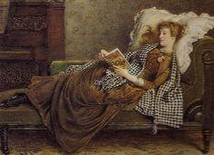 pintura de George Goodwin Kilburne (1839-1924)