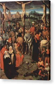 Altar triptych from the Lübeck Cathedral (detail), Hans Memling Medium: oil,canvas Renaissance Paintings, Renaissance Art, Medieval Art, Jan Van Eyck, Catholic Art, Religious Art, Chef D Oeuvre, Oeuvre D'art, La Passion Du Christ