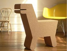 Pop Cork Dinosaur Chair - modern - kids chairs - - by Little Fashion Gallery. Pinned for Kidfolio, the parenting mobile app that makes sharing a snap.