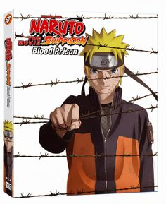 Naruto Blood Prison Anime DVD & Blu-Ray Release Announced by Viz Media   Keymochi