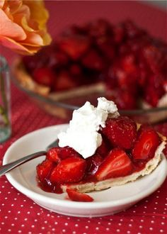 Fresh Strawberry Pie ♥