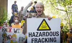 Vivienne Westwood takes the fracking debate to Cameron – in pictures