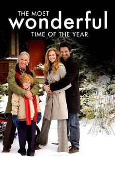 THE MOST WONDERFUL TIME OF THE YEAR. This was a wonderful film, and it was release in it's a Hallmark movie. This moive stars Henry Wrinkler and Warren Christe. Henry plays a Uncle who raised his niece. He is traveling to Denver when he meets W Hallmark Channel, Hallmark Weihnachtsfilme, Hallmark Holiday Movies, Free Christmas Movies, Christmas Movies On Tv, Amazon Christmas, Most Popular Movies, Lifetime Movies, Romance Movies