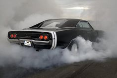 Dodge Charger R/T Burnout