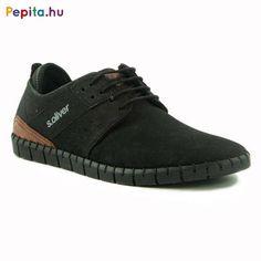 S.Oliver férfi Alkalmi cipő #fekete | Pepita.hu