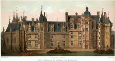 Château de Meillant, near Bourges (Cher). Louis Xii, Great Paintings, French Revolution, French Chateau, Chapelle, Victorian Homes, Places To Go, Beautiful Places, Around The Worlds