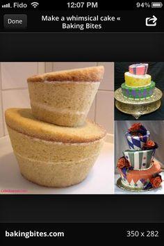 Tipsy cakes all topsy turvy