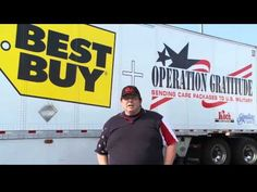 VIDEO: Thank you, @BestBuy, for supporting the Troops...& thank you, Rocky, for delivering all the donations for our care packages & for sharing this sweet and inspiring story.