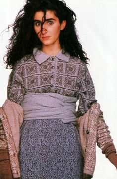 """HAD the top and skirt! Got it my first week at UT/Knoxville at the Benetton on """"The Strip"""".// Taxi magazine, September 1987."""