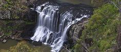 Waterfall in NENW (New England North West region near Brisbane, Australia);  photo by Paul Foley