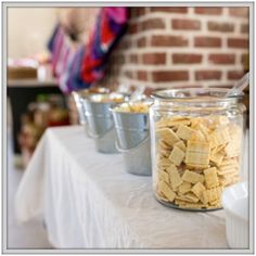 DIY Cowboy Party Food Ideas from Palmettos and Pigtails