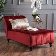 Rubie Velvet Chaise By Christopher Knight Home Beleuchtung, Regal,  Schlafzimmer, Wohnen, Chaiselongues