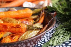 Pommes de terre et carottes rôties au four - Emilie and Lea's Secrets