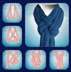 A New Way To Tie Your Scarf