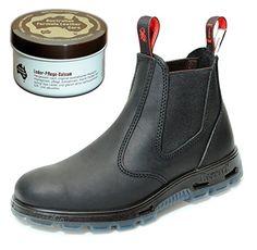 Redback UBBK Work Boots aus Australien - Unisex + 250 ml Lederpflege | Black - http://on-line-kaufen.de/redback/redback-ubbk-work-boots-aus-australien-unisex-250
