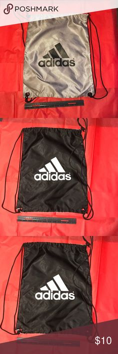 NWOT Two sided adidas drawstring backpack Pics Adidas Bags Backpacks