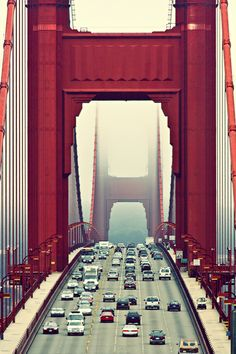 Golden Gate Bridge - San Fran