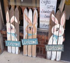 DIY Easter Wood Crafts which are a result of Labour, Love And Patience - Hike n Dip Easter crafts DIY Easter Wood Crafts which are a result of Labour, Love And Patience - Hike n Dip Bunny Crafts, Cute Crafts, Easter Crafts, Diy Crafts, Arte Pallet, Pallet Art, Wooden Crafts, Wooden Diy, Spring Crafts