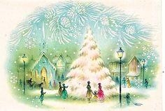 Pretty Christmas Card