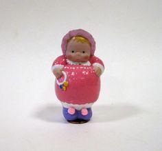 Porcelain Doll Baby Dumplin 3 inch Penny Doll by DollladyDianasDolls on Etsy
