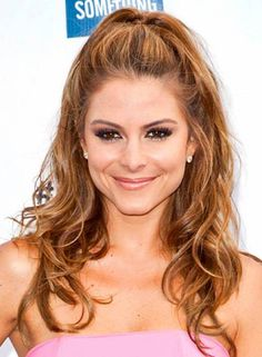 Half Pony with For Layered Hair Half Ponytails … Half Pony con cabello en capas Half Ponytails . Half Pony Hairstyles, Half Updo Hairstyles, Square Face Hairstyles, Wedding Hairstyles, Bridesmaid Hairstyles, Brunette Hairstyles, Wavy Updo, Wavy Hair, Medium Hair Styles
