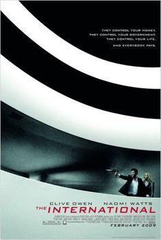 The International (2012) - O filme foi realizado nas cidades de  Instambul , Berlim, Milão e Nova York. O  Museu Gugguenheim (Frank Lloyd Wright ) e o  Centro de Cencias Phaeno ( Zaha Hadid)  em Wolfsburg / Alemanha  , foram usados em importantes cenas dentro do filme. .