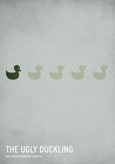 The Ugly Duckling #minimalistic #poster