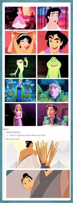 Yep, Mulan:)