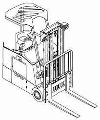 Yale Forklift Truck Type AG, BG (A814): ERC030, ERC040