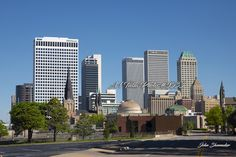 Best places to appreciate the perfect Tulsa skyline this is one of my favorites Is this spots on Boulder Street looking south Pictures For Sale, Great Pictures, Canvas Pictures, Stock Pictures, Photography Degree, Image Photography, Fine Art Photography, Skyline Image, Daylight Savings Time
