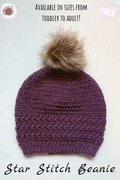BELLA hat,beanie,kids,woman,girl,teens,adult,beginner friendly,fall,winter,knit look,stretchy,warm CROCHET PATTERN