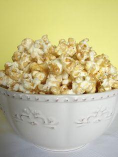 Easy Caramel for Popcorn or Apple Dip