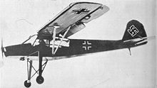 Fieseler Fi 156 Storch (Stork) was Designed for Short Take Off and Landings (STOL) Aircraft - Used as a Liaison, Battlefield Surveillance, Photo-Reconnaissance and Covert Infiltrations behind Enemy Lines - Powered by: 1 × Argus As 10 Air Cooled Inverted V8 Engine, Rated at: 240 hp – Armament: 1 × 7.92mm MG 15 Machine Gun – Over 2,900 were Produced between (1937–1949)