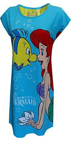 Disney's Little Mermaid Ariel And Flounder Night Shirt for women (X-Large) WebUndies.com http://www.amazon.com/dp/B00VKSKCRC/ref=cm_sw_r_pi_dp_zKcIvb102A5FT