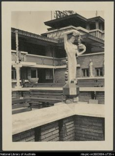 Midway Gardens, Chicago Illinois. 1914 (demolished in 1923). Frank Lloyd Wright