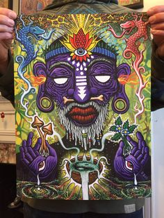 The Witch Doctor  12 x 16 Archival Fine Art Print  Original