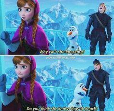 Laf. Laf. Laf. Olaf