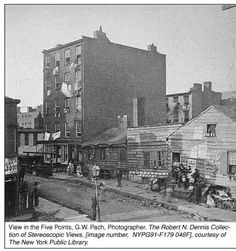 Irish in New York 1860 | The Robert N. Dennis collection of Stereoscopic Views; Photographed by ...
